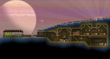 Starbound offers a classic side-scrolling experience