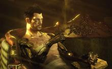 Elias Toufexis provides the voice and motion capture for Adam Jensen.