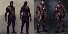 Adam Jensen's and Iron Man's current character design.
