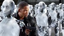 A neo-noir dystopian science fiction action film.