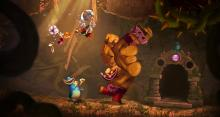 A screenshot of Rayman Legends.