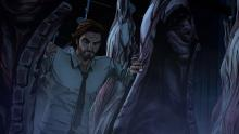 A screenshot of the Wolf in The Wolf Among Us.