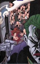 joker, babies, commissioner, gordon, sarah, essen, no, man's, land, joker, batman, gotham, dc, comics