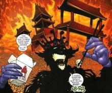 emperor, superman, mxyzptlk, joker, batman, gotham, dc, comics