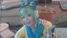 Seems like the best Riven player in the world also enjoys a little Riven cosplay