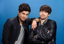 Ian and Daniel as they appear in their movie