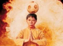 Stephen Chow mixes soccer with martial arts and makes a great comedy in the process