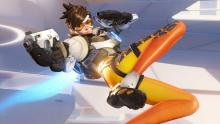 Tracer has become the cover girl for Overwatch since release.