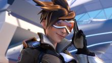Tracer is another popular hero found in the Blizzard animated shorts.