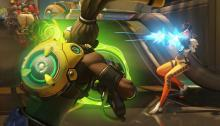 With Lucio's speed and push back, he can be a difficult kill for Tracer.