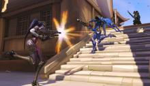 Widowmaker can find herself vulnerable on the ground.