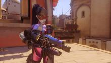 Widowmaker's ultimate allows her to see enemies across the map.