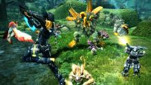 Let's check out some more popular Asian MMOs that you can play right now. Phantasy Star Online 2 (PSO2) is a sci-fi online action RPG developed by SEGA. The game features a deep character creation system, three races and classes, dynamic dungeons and action-based combat that combines hack and slash and TPS elements.