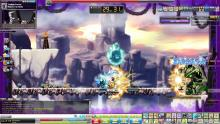 "MapleStory is a side-scrolling MMORPG developed by Nexon's Wizet Studio. In the game, players defend the ""Maple World"" from a variety of monsters and develop their character's skills and abilities by battling monsters, partaking in story-based quests, jump quests and teaming up with others for Party quests."