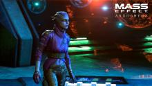 It was recently revealed that the asari PeeBee would be a romance option.