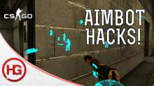How else do cheaters get an advantage over regular players in video games? Well, there's the good old fashioned aimbot, a bot that aims straight for an enemy whenever one pops out.