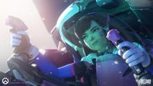 D.Va can be very fun for someone who isn't used to FPS games.