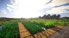 Even in games like Minecraft mods can change the look of the game completely.