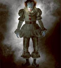 Full body Pennywise is revealed looking scarier than ever!