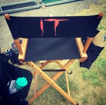 Infamous clown pennywise (IT)'s crew chair