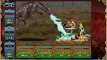 This is a fight with a Black Dragon boss in Shadows over Mystara. Acidic bile incoming!