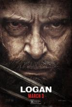 Designers must have had a lot of fun designing this close up poster with Hugh Jackman.