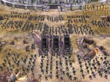 armies in battle for middle earth