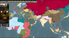 World Map in Darkest Hour