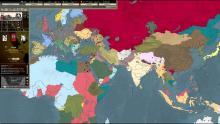 World Map in Darkest Hour