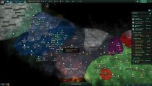 Galactic map in Stellaris