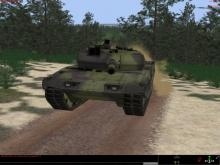Experience the real life scenario of traveling in a tank
