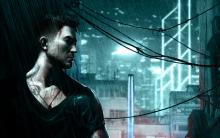 Wei Shen walks down the dark alleyway in Sleeping Dogs