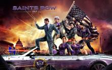 Standing with the crew in Saints Row 4