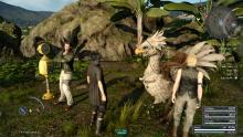 Chocobos return in Final Fantasy 15.