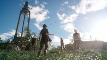 An example of the beautiful scenery of Final Fantasy 15