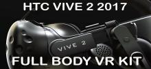 The HTC Vive 2 full body VR kit is neck to neck with Oculus Rift and Playstation VR in the market war.