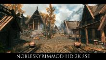 NobleSkyrimMod is a complete HD retexture of of the game.