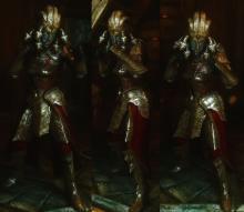 The Medusa half of the Medusa Drakul and Thanatos Dragon armour set.