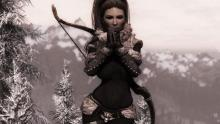 The Northgirl mod brings some rather shapely winterwear to the wastes of Skyrim.