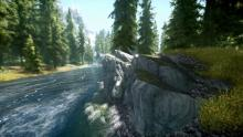 One of Skyrim's many flowing rivers.