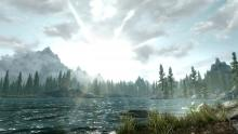 A landscape of Skyrim's far-reaching plains.