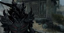 Daedric Armour is the finest armour set in the game.
