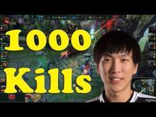 Doublelift reaches 1000 kills