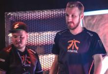 olof walks away from flusha at DreamHack Summer 2017; olofmeister would leave Fnatic August 2017 to join Faze Clan.