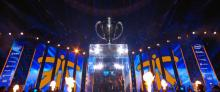IEM Katowice 2018 champions, Fnatic, walk off the stage after defeating Faze Clan 3-2 in the finals