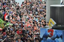 It's wall to wall people at E3