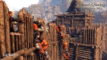 Raise your ladders or push forward your siege tower, siege warfare is more interactive than ever