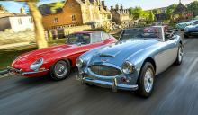 Get ready to ride through Britain in some classic British racers. Enjoy the scenery.