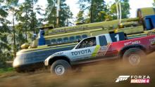 Or race some hovercraft! Test your V10 truck against the power of air.