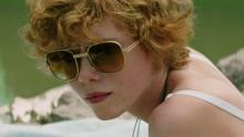Sophia Lillis as Beverly Marsh.